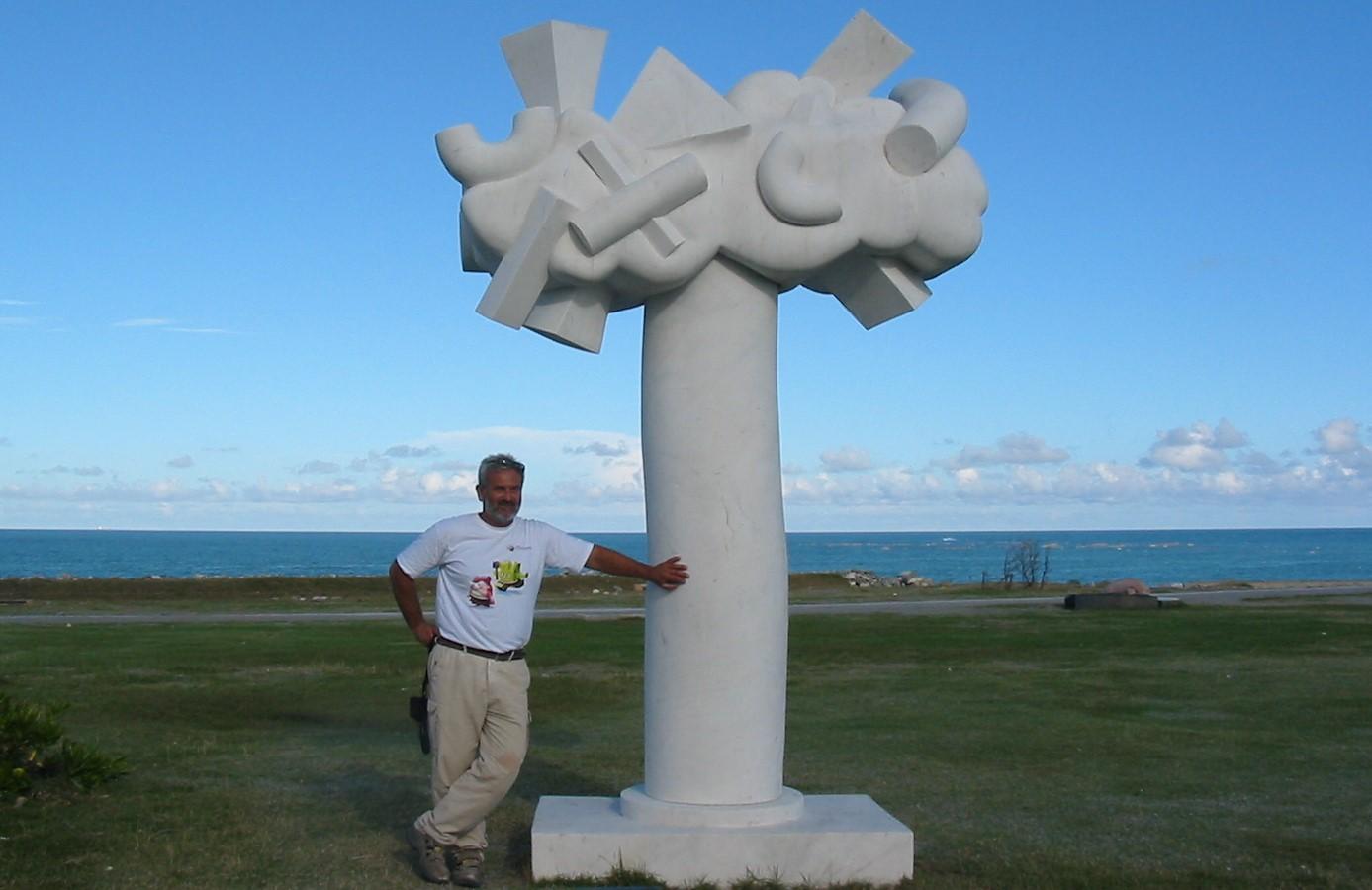 7. Giorgie's sculpture -