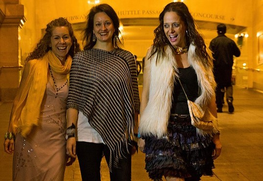 1. Keve Wilson, Lynn Bechtold and Milica Paranosic (photo credit Meschida Philip)