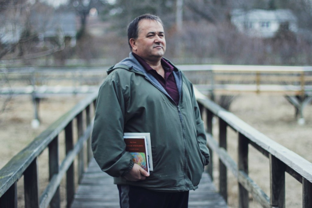 1. 2. Writer Ilija Saula with his latest book 'Boulevard of Light'
