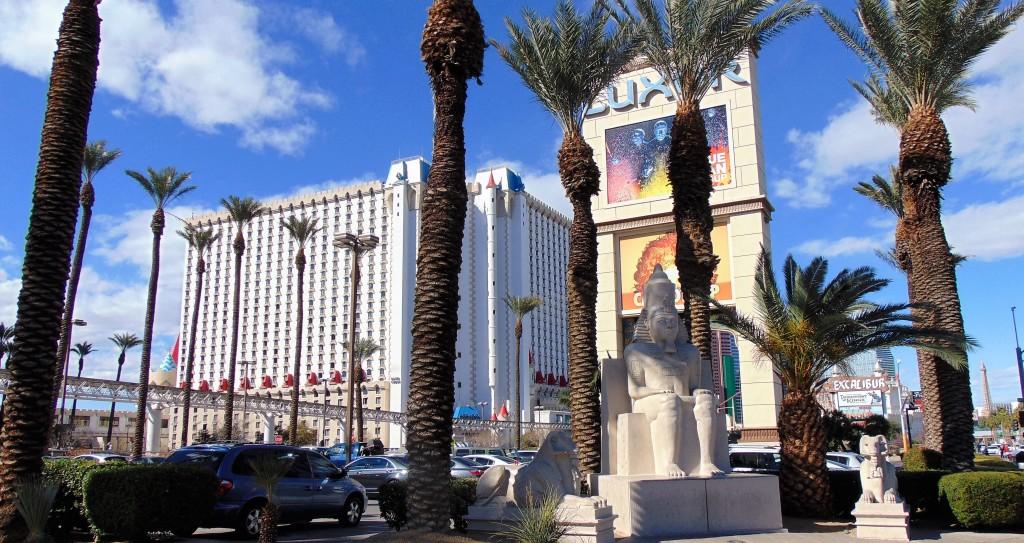 16. Typical Las Vegas scene