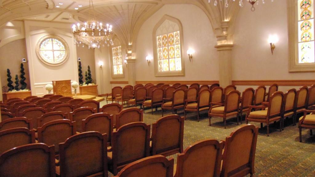 3. Big wedding chapel