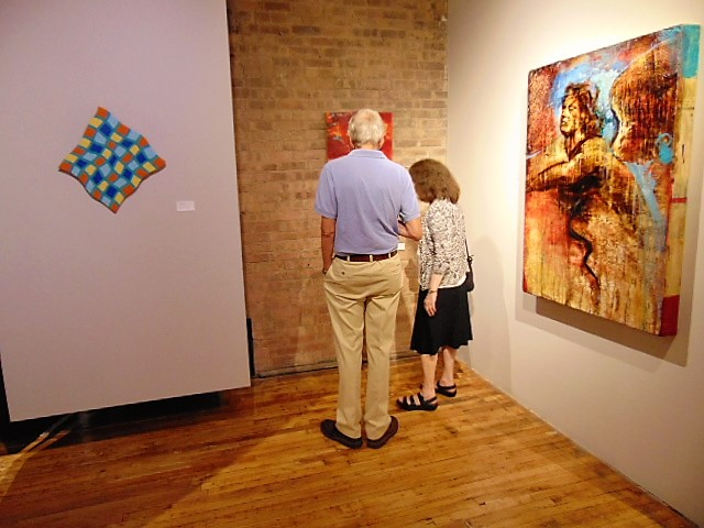 15. Visitors at Exhibition 'Encaustic 2017 - rebirth of the ancient medium'