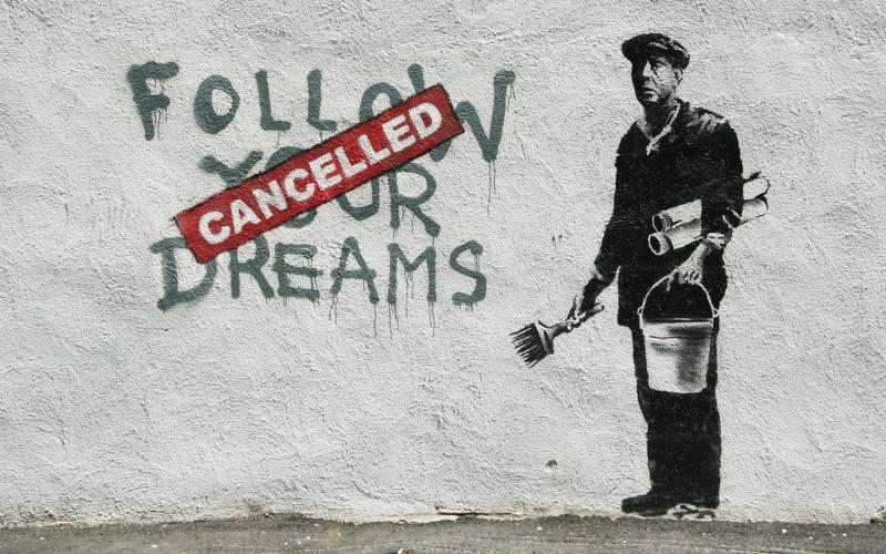 2. 'Follow Your Dreams -Cancelled', 2010, Boston