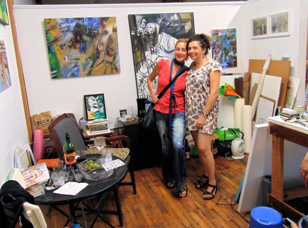 10b. Tamara Wasserman (right) with her friend Picolina Zoo