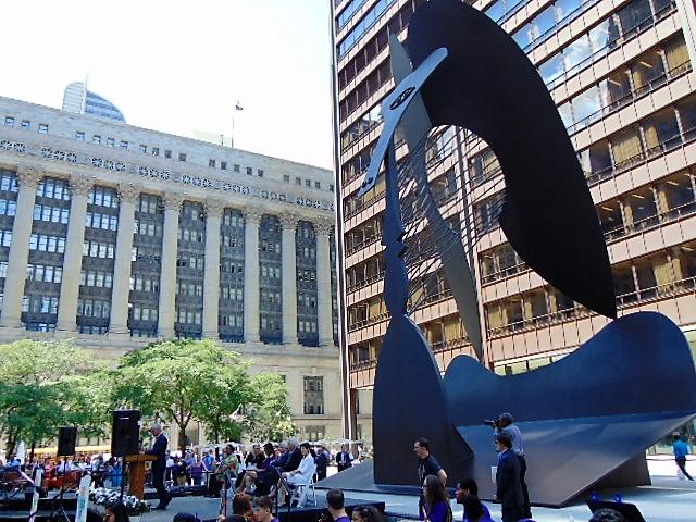 7. Picasso's scultpture