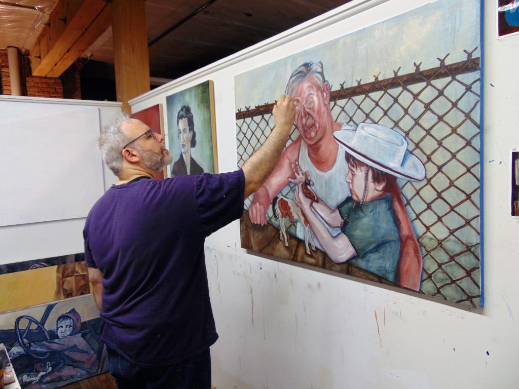8. In Joseph W. Turner studio