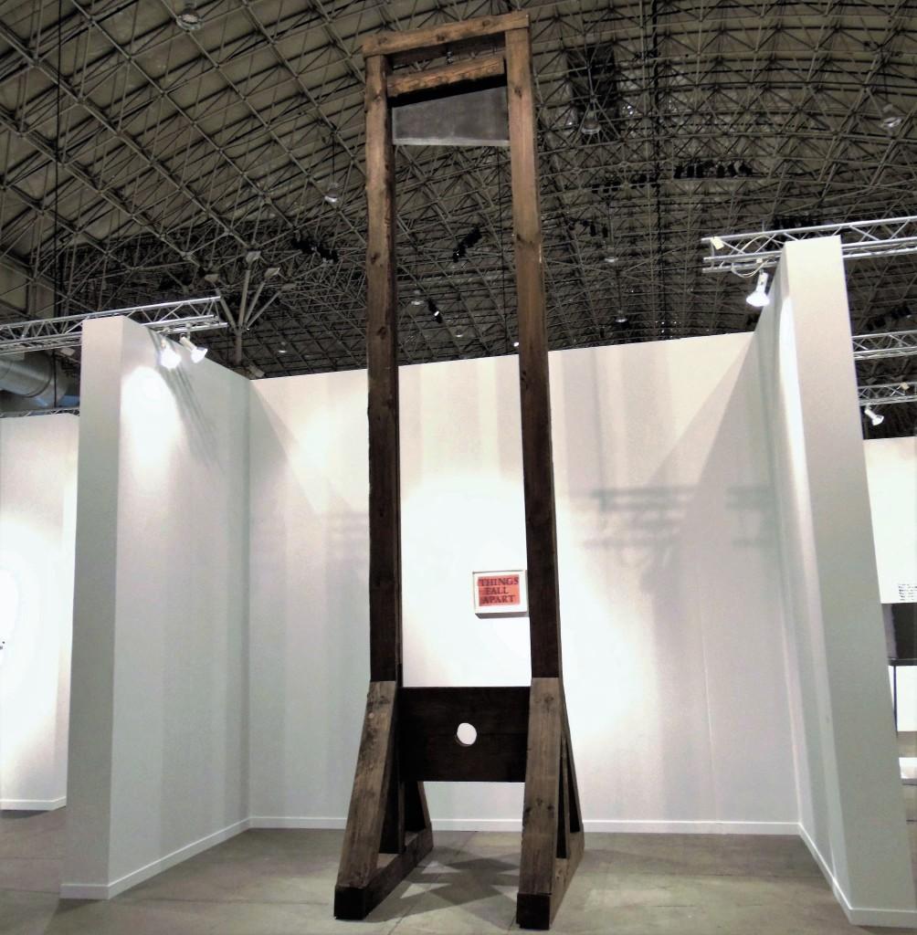 12. Piero Golia, Untitled (Evil exists where good man do nothing,