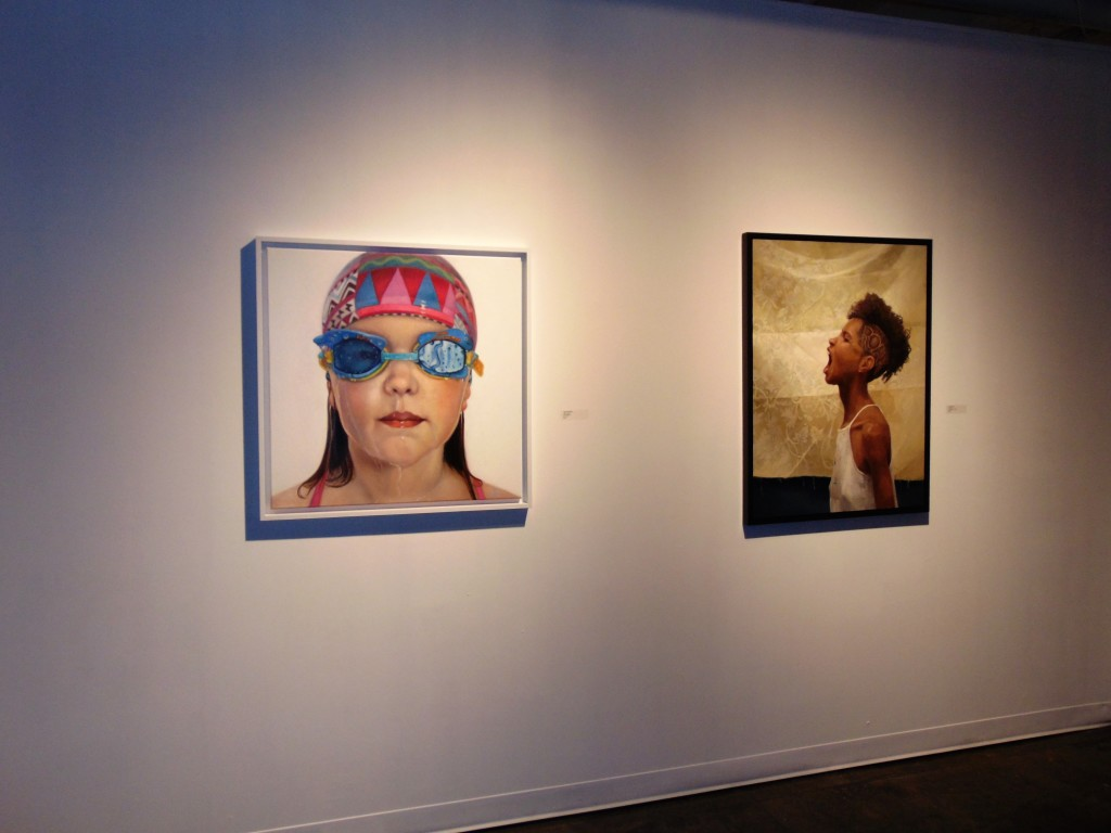 """14. """"Little Champ"""" Astrid Ritmeester (left) and """"Hear me"""" by Alia El-Bermani"""