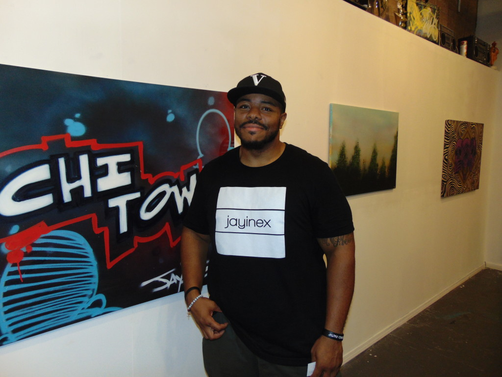 16. Corey Jenkins, founder of 'Jayinex', creative community where people do art, music, photography...