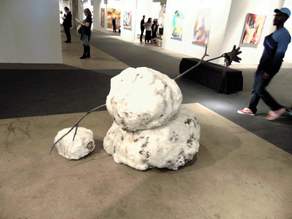 17. Tonny Tasset, 'Snowman in two parts', Kavi Gupta Gallery