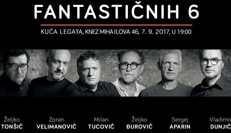 4. Poster for the exhibition 'Fantastic 6'
