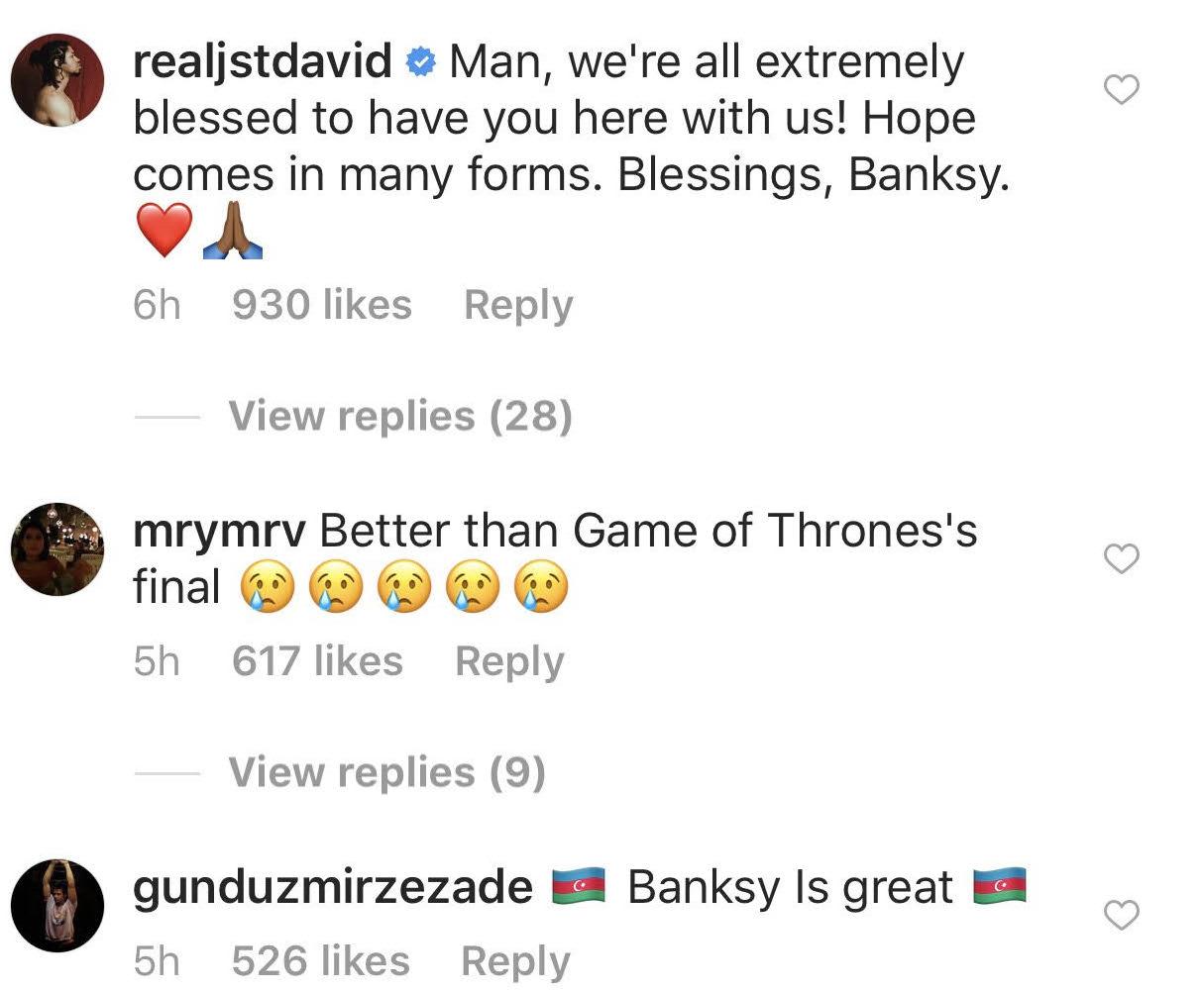 Bansky komentari citalaca